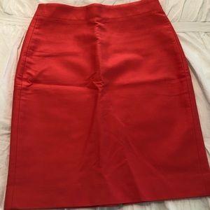 Jcrew pencil number 2 pencil skirt, size 2